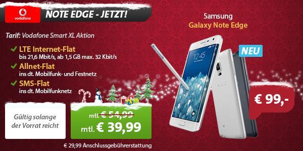 Samsung Galaxy Note Edge mit Vertrag